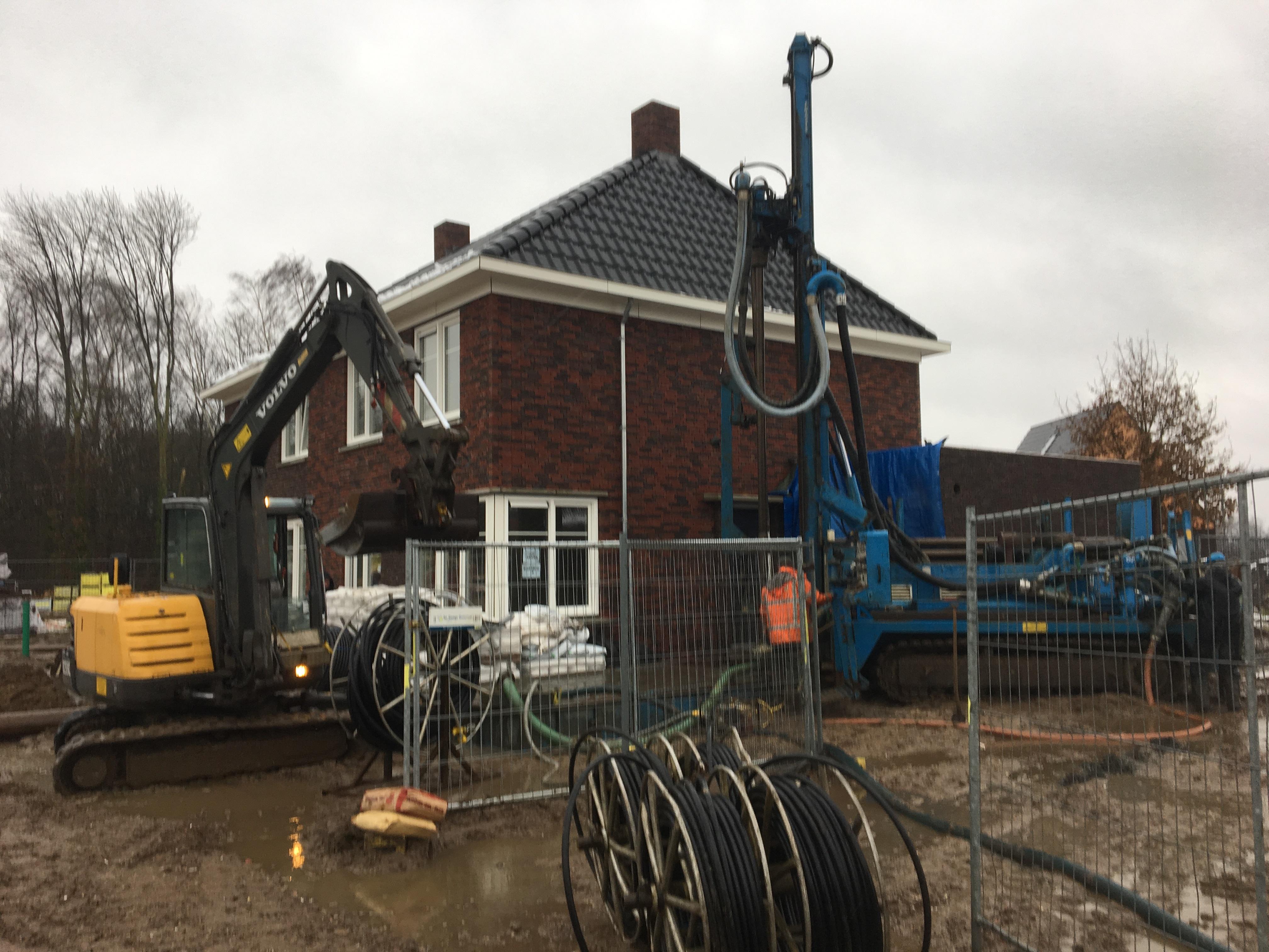 Warmtepomp boring prijs for Kostprijs huis bouwen zonder grond