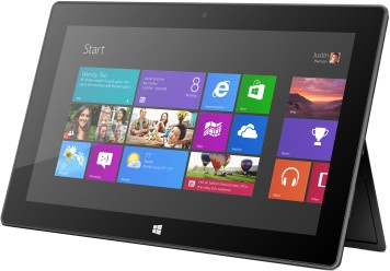Microsoft Surface Windows RT 32GB Zwart