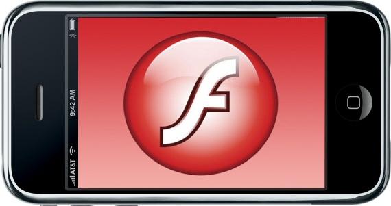 Adobe Flash op iPhone 3GS