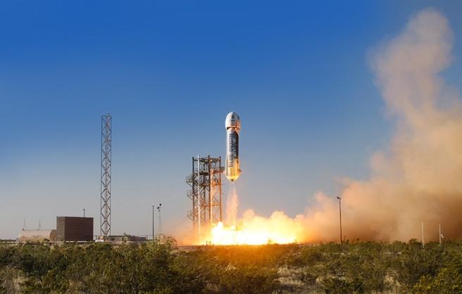 Blue Origin testvlucht