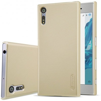 Nillkin Backcover Sony Xperia XZ - Super Frosted Shield - Gold