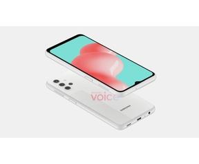 Samsung Galaxy A32 5G-renders van OnLeaks