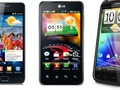 Dualcores Galaxy S II, Optimus 2X en Sensation