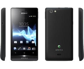 Sony Xperia Miro (ST23i) Zwart
