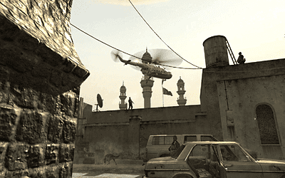 Call of Duty 4: Modern Warfare (8800GTX, all high, � Aap) - helikopter