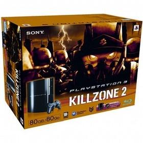 Sony PlayStation 3 80GB & Killzone 2 Zwart