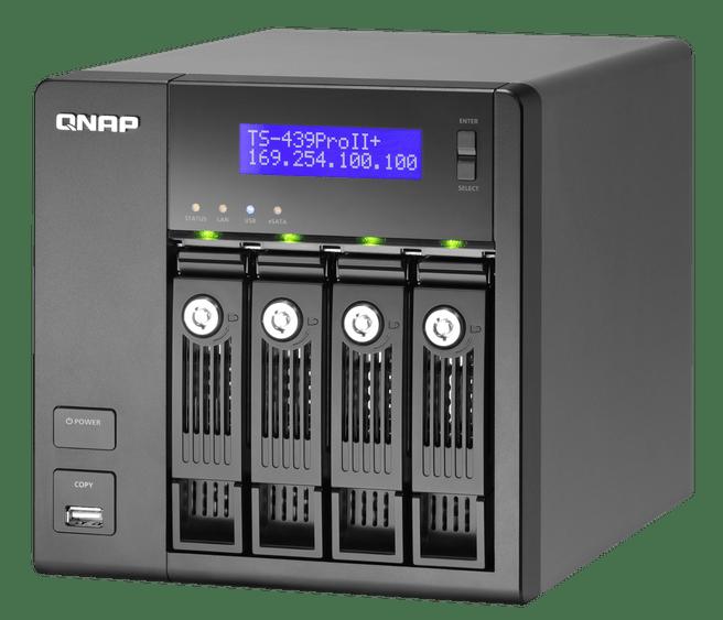 QNAP TS-439 Pro II+ Turbo NAS
