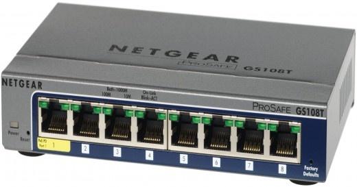Netgear Prosafe GS108T-200