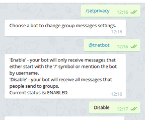 Telegram-bots en privacy