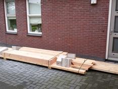 De hout-levering