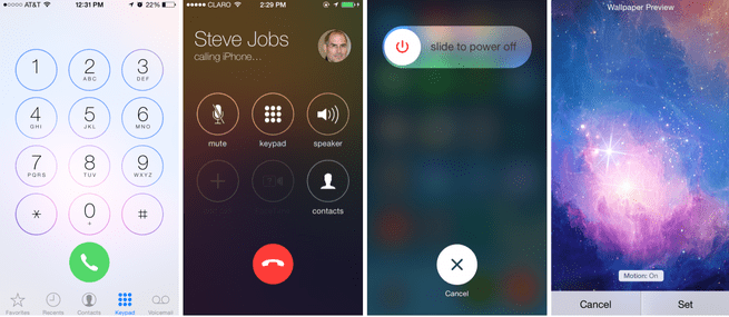 iOS 7.1 beta 3 (bron: 9to5 Mac)