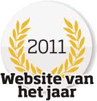 Logo Website van het Jaar 2011