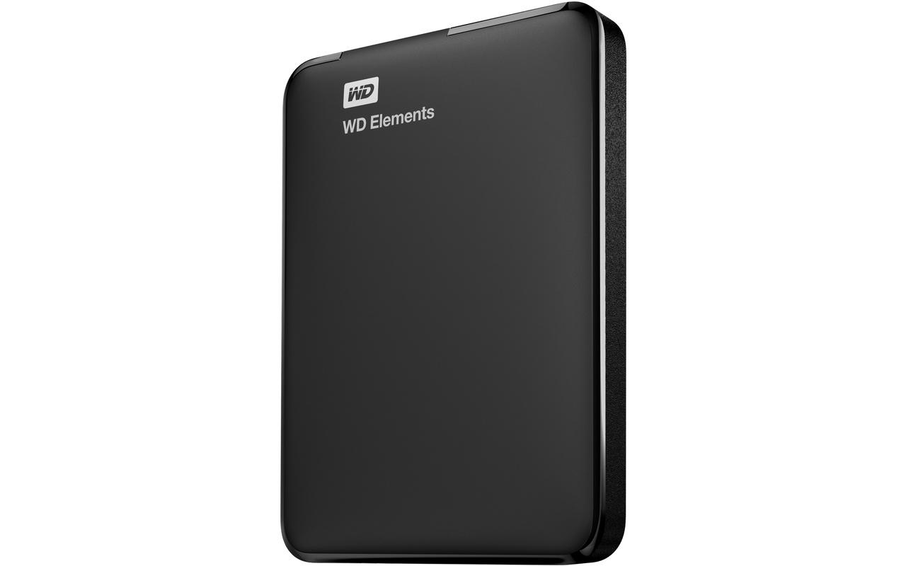 WD Elements Portable Storage 1TB Zwart