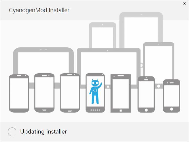 CyanogenMod -- installer