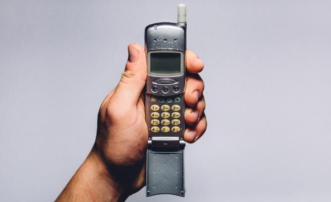 Oud mobieltje mobiele telefoon dumbphone