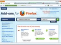 Firefox 4 interface (mockup)