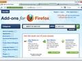 Firefox 4 interface (mockup)