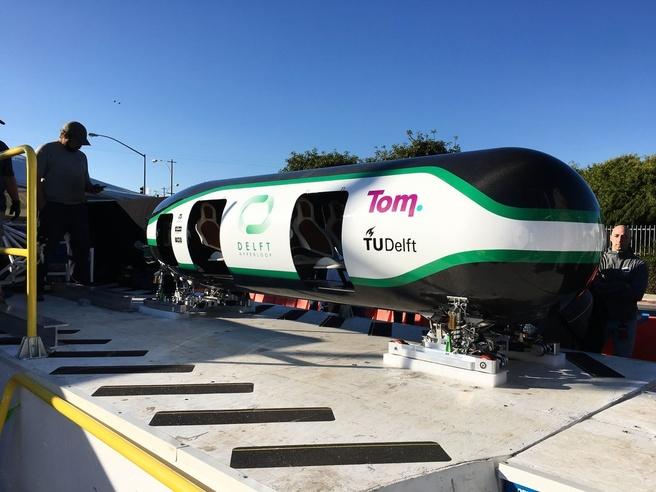Bouwconcern bam is begonnen met aanleg hyperloop testfaciliteit in