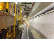 LHC tunnel/buis