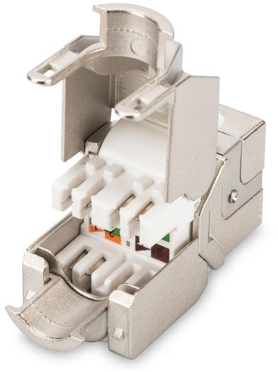 Digitus CAT 6A Keystone Module, shielded, toolfree (DN-93615)