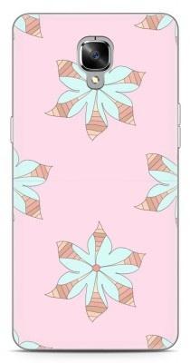 Just in Case OnePlus 3 / OnePlus 3T Hoesje Mandala Bloemen Zalm Roze