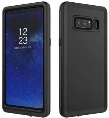 qMust Samsung Galaxy Note 8 Waterdicht hoesje - tot 10m diepte - Black