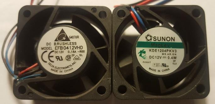oude en nieuwe fan