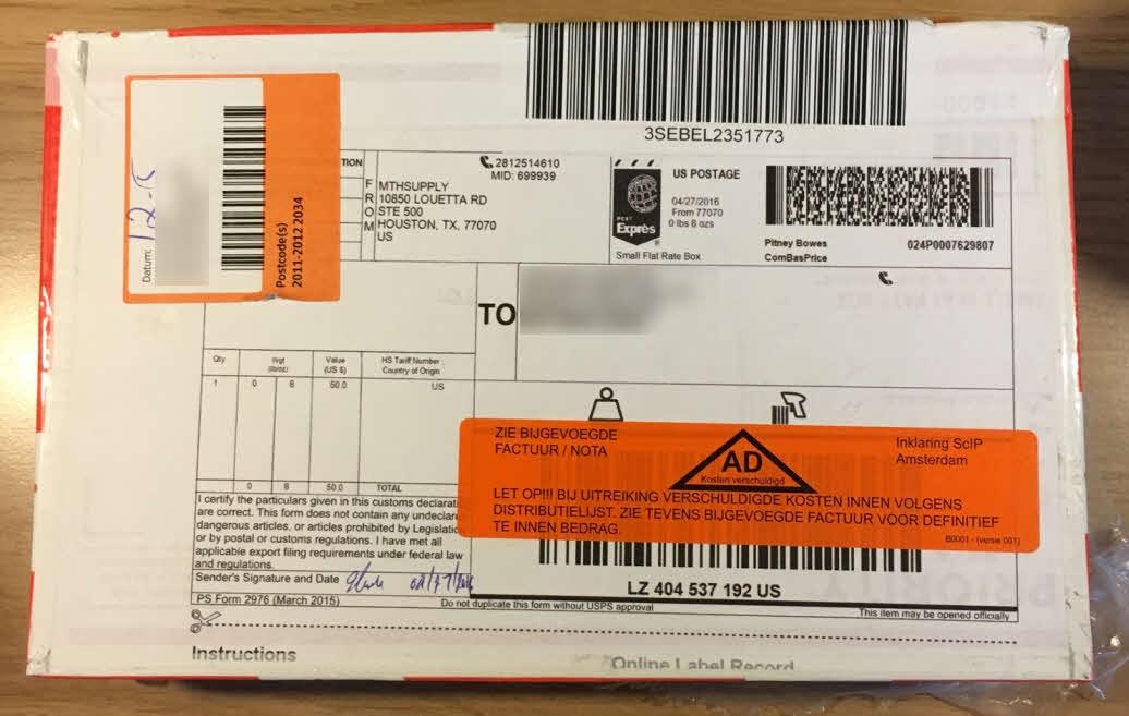Pakketje SSD