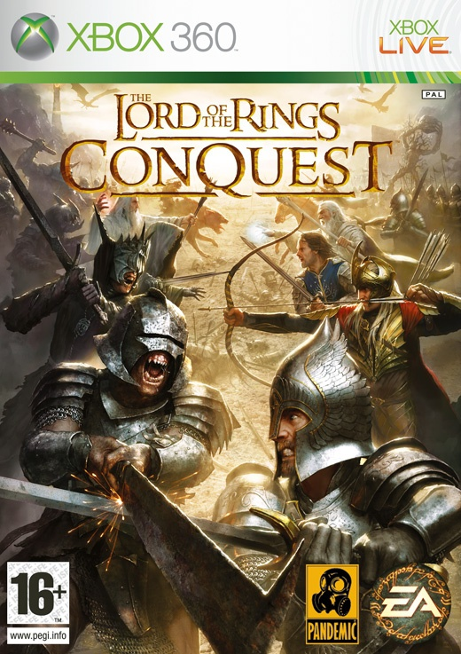 Lord Of The Rings - Conquest, Xbox 360