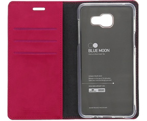 Mercury Blue Moon Wallet Case - Samsung Galaxy J5 (2016) - Roze Roze