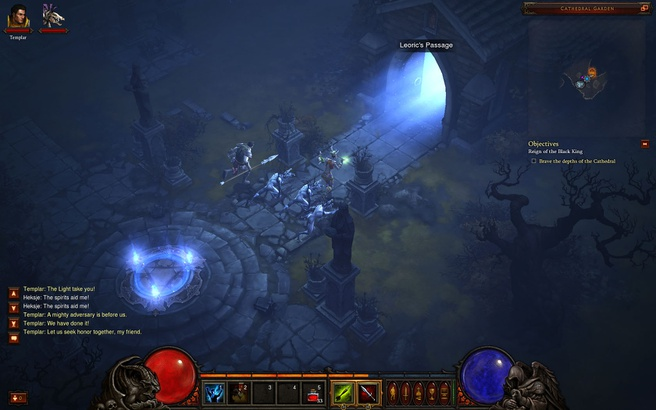 Beelden uit de Diablo III-bètatest