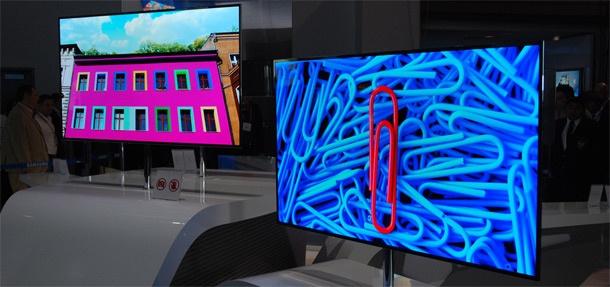 Samsung oled-tv ces 2012