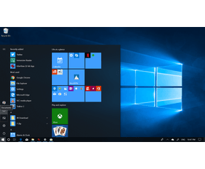 Windows 10 Spring Creators Update Start Menu