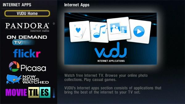Vudu webapps