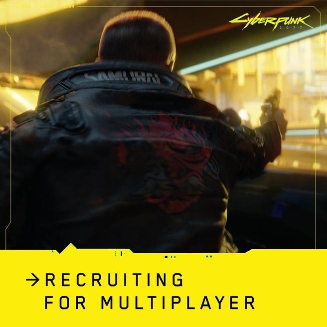 Cyberpunk 2077 multiplayer recruiting