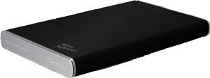 TrekStor Datastation pocket Xpress 640GB Zwart