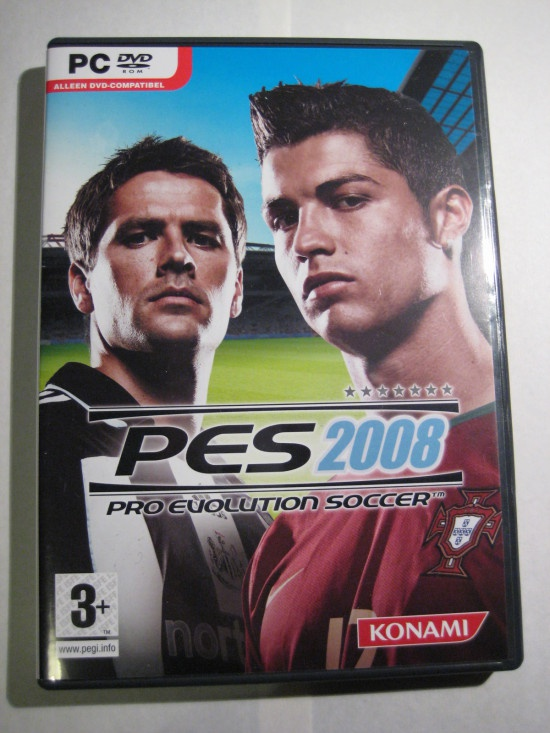 Een boxshot van PES 2008 voor de PC