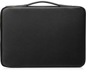 """HP 14"""" Carry Sleeve Black/Gold Goud, Zwart"""