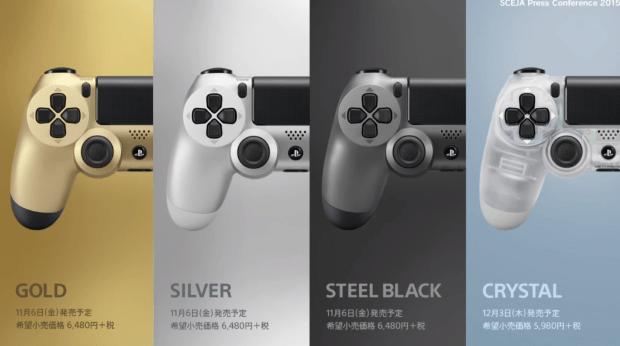 Sony PlayStation 4-controllers in meerdere kleuren