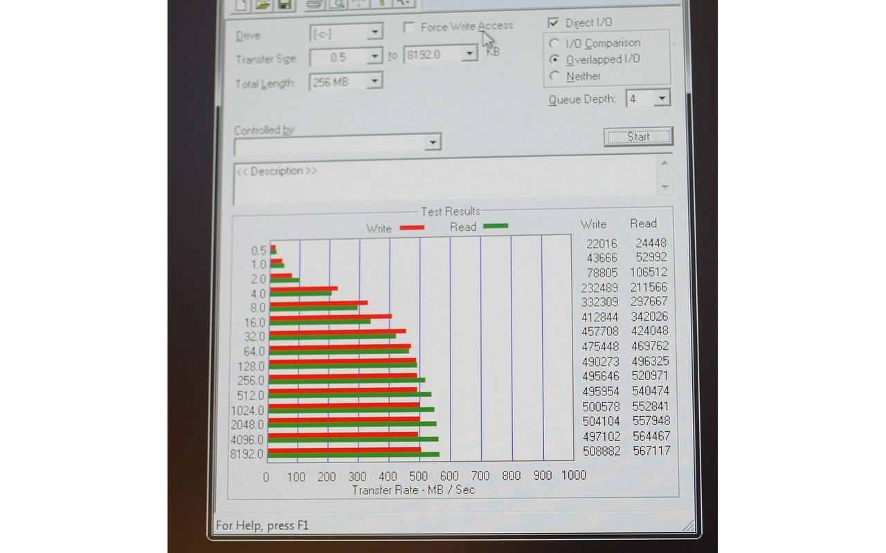 GSkill Phoenix II 120GB ssd benchmark