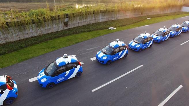 Baidu vloot autonoom rijden