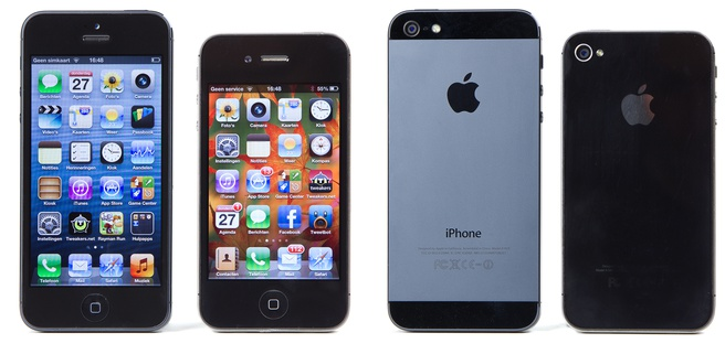iPhone 5 versus iPhone 4S