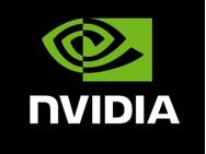 Nvidia logo 2d groot
