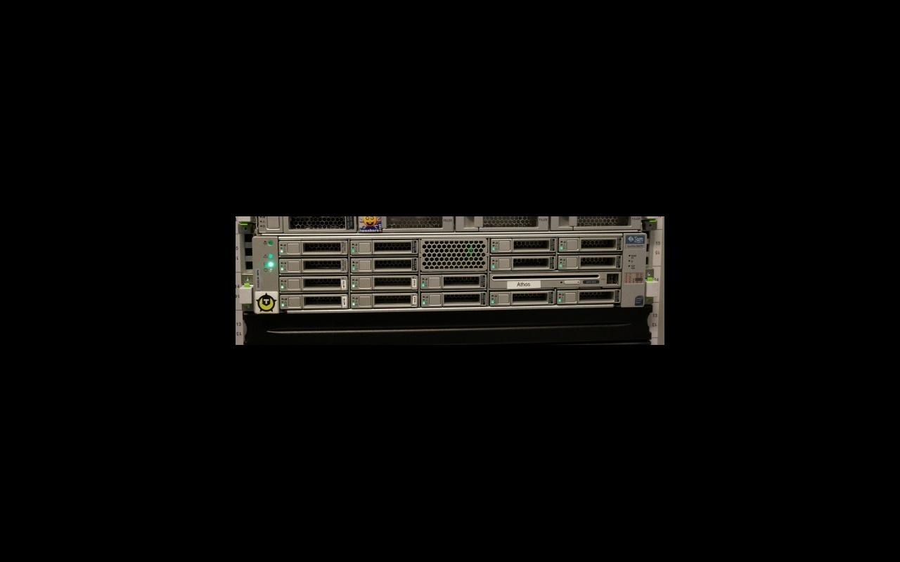 File-server athos in bedrijf