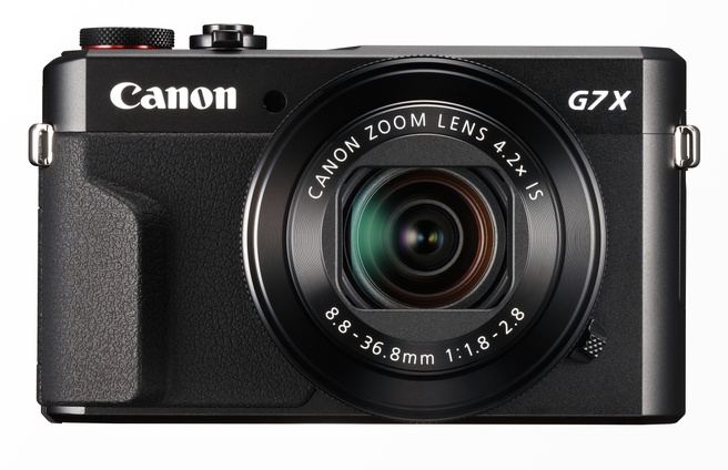 Canon PowerShot G7 X Mark II Zwart