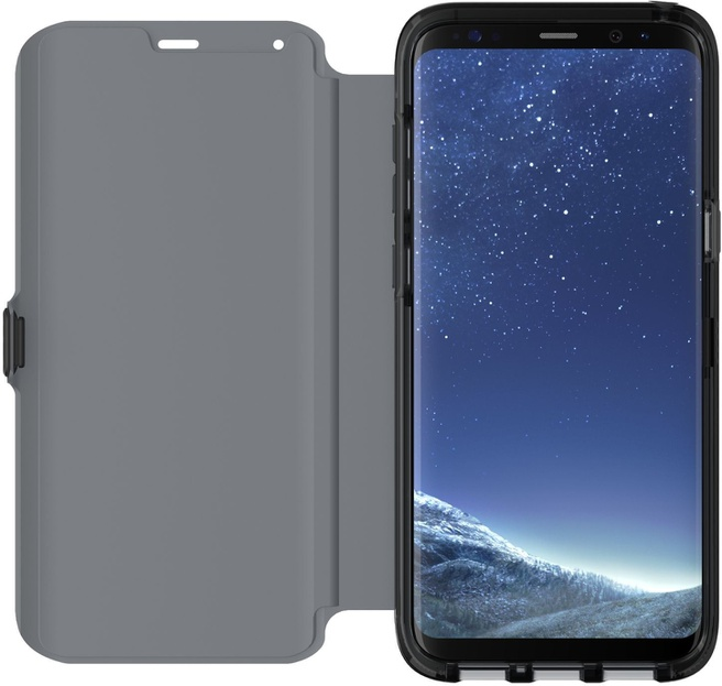 Tech21 Evo Wallet Samsung Galaxy S8 Plus Book Case Zwart Zwart