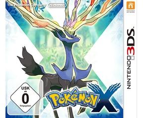 Pokémon X, 3DS