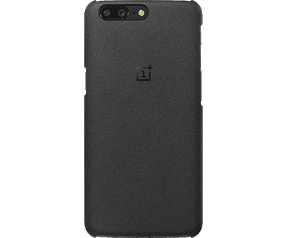 OnePlus Protective Case Sandstone 5 Zwart