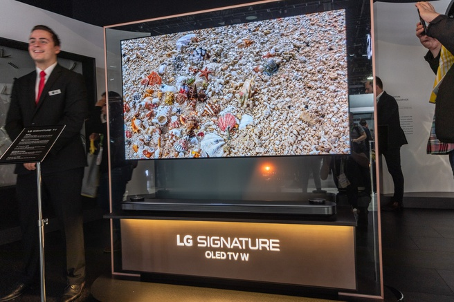 The new lead the TVs from LG – Preview
