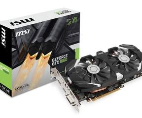 MSI GeForce GTX 1060 Armor OC 6G en 1060 6GT OC